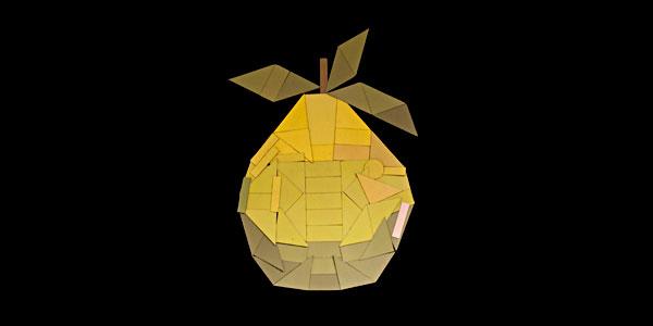 中秋主题柚子雕刻图片